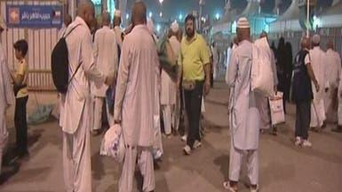 الحجاج يحتفلون بالعيد وتأدية المناسك وسط فرحة عارمة