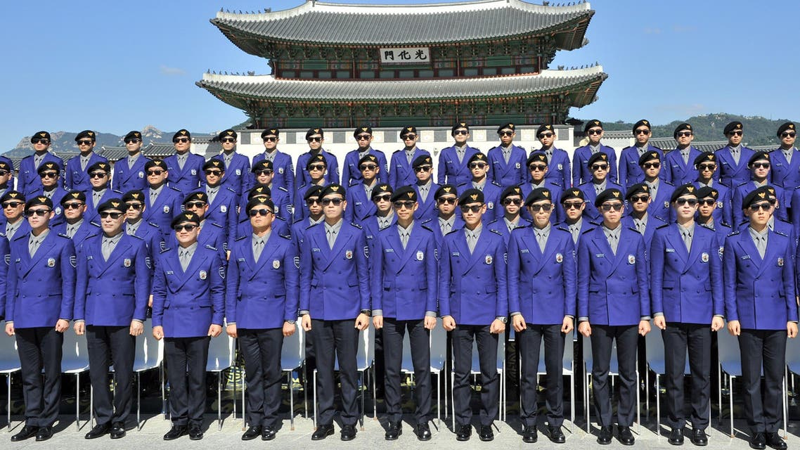 شرطة كوريا