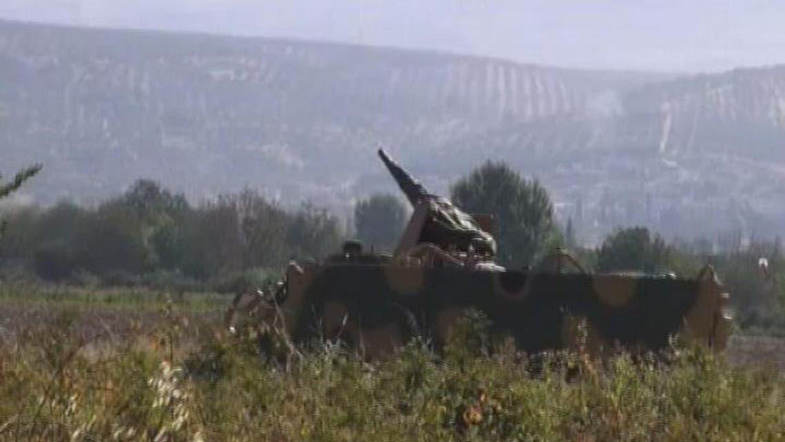 THUMBNAIL_ الجيش التركي يطلق النار على مقاتلين من القاعدة في سوريا