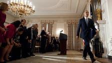 Obama says U.S. shutdown 'encouraged enemies'