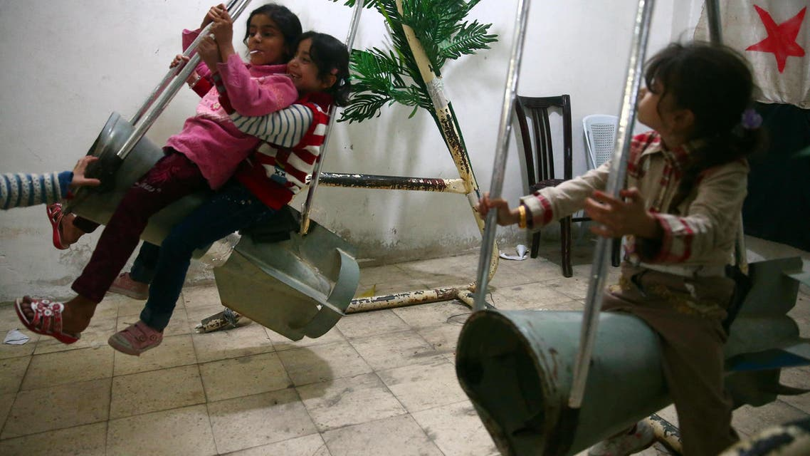 Syria weapons turned into toys