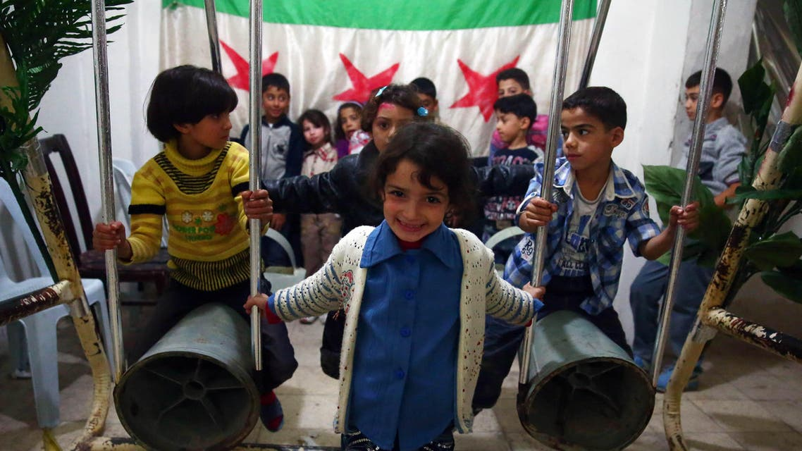 Syrian weapons turned into toys