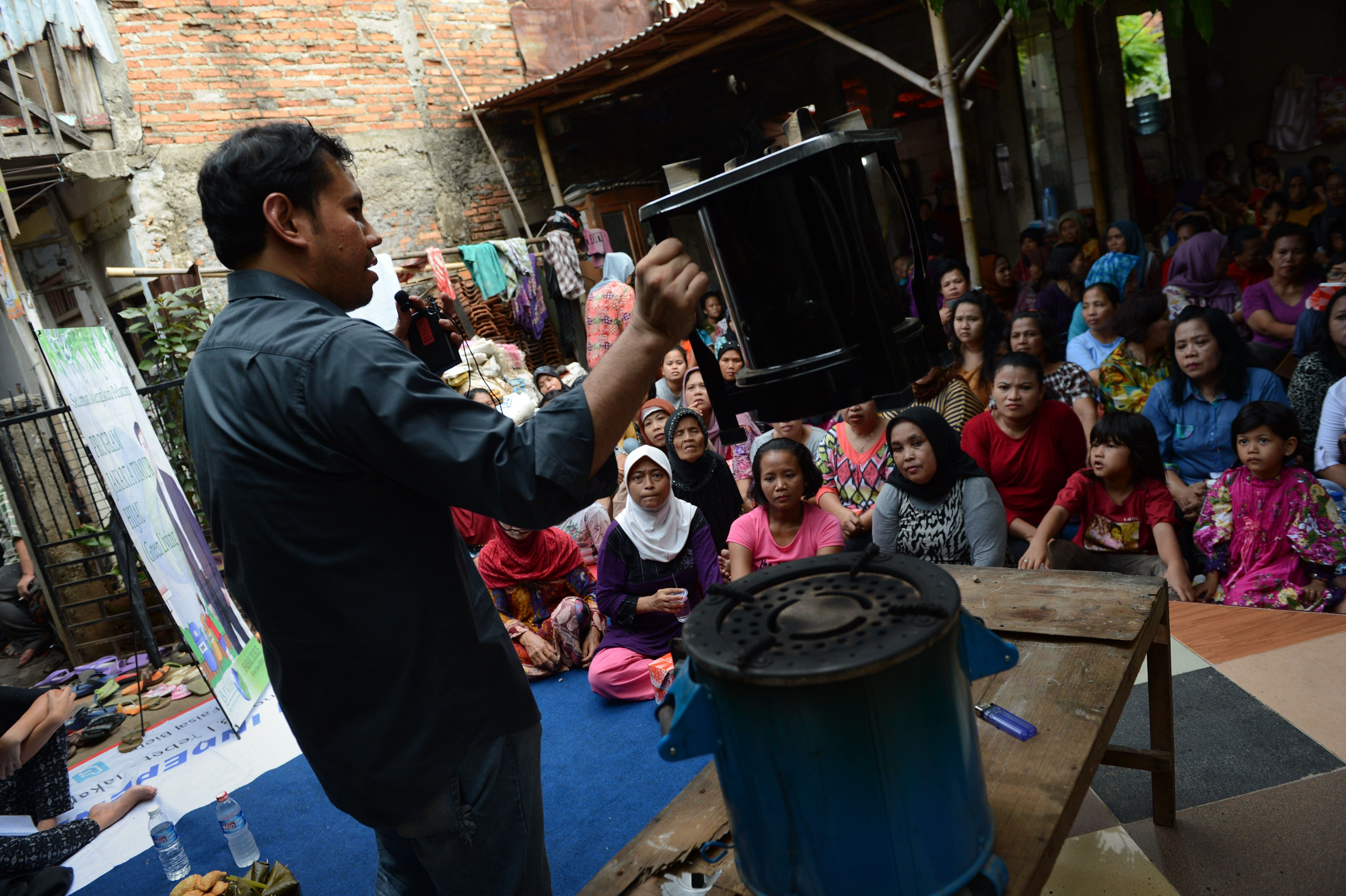 Going green in Indonesia