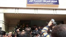 موقوفون يضرمون النار في قسم بالإسكندرية محاولين الهرب