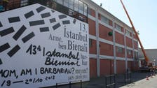 Wrecking ball sets tone for Istanbul art expo