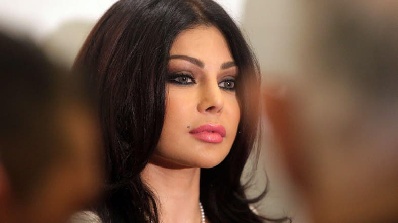 Dont Text And Drive Lebanese Diva Haifa Wehbe To Spread The
