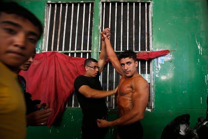 Meet Gaza City's bodybuilders