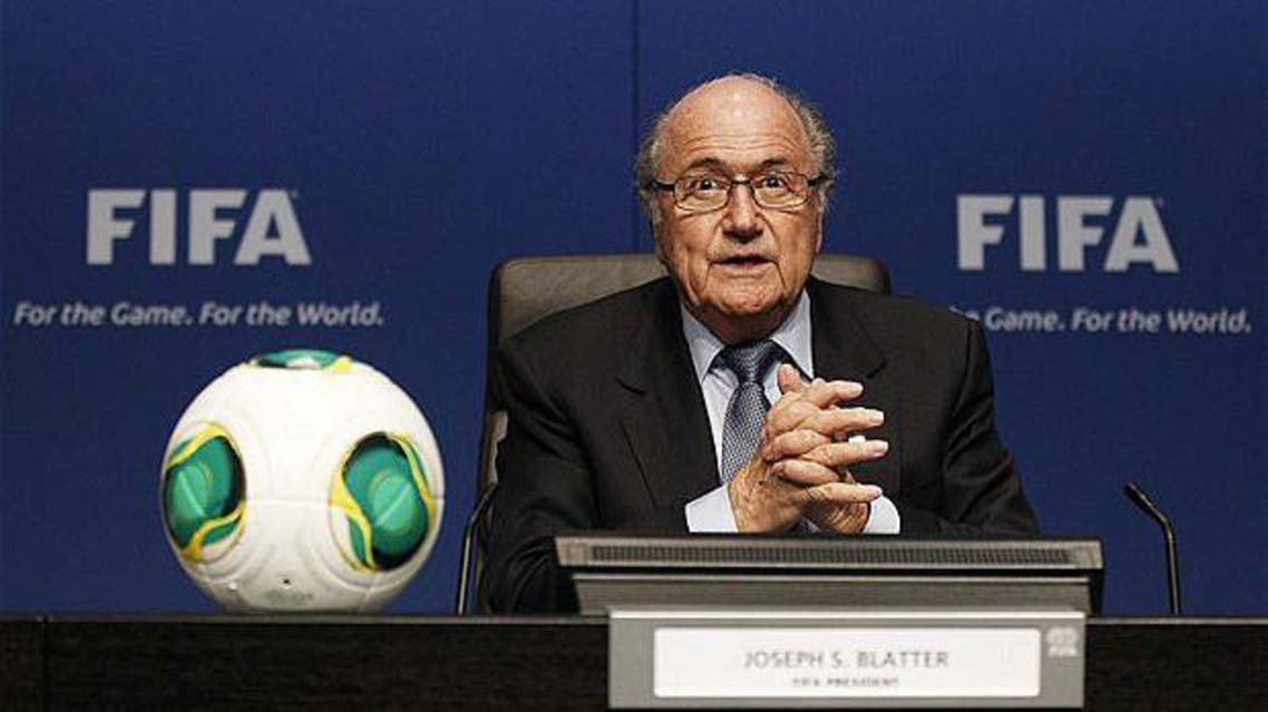 FIFA President Sepp Blatter says he's confident in the UAE's ability to host global events for all sports