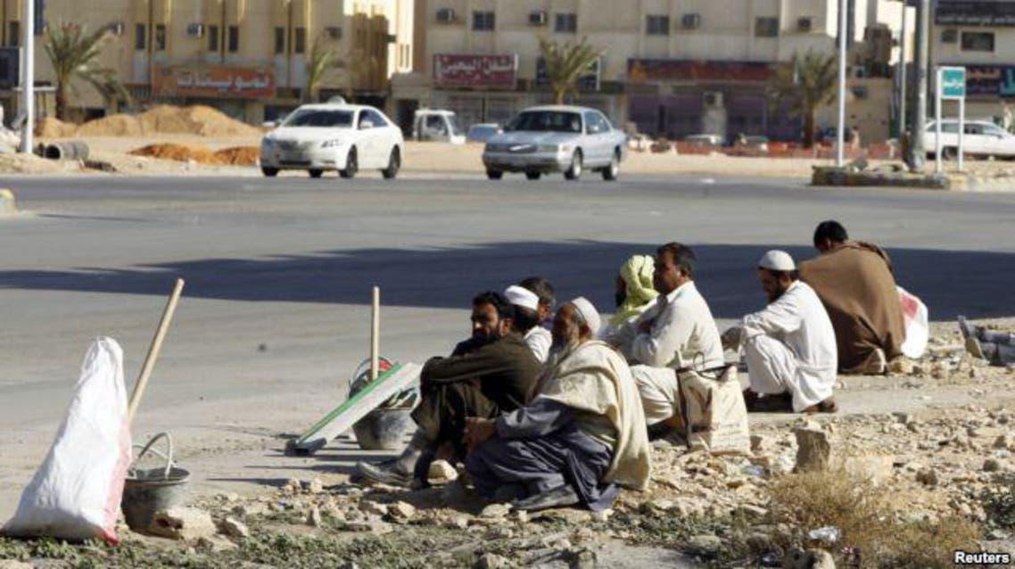 illegal saudi workers: reuters