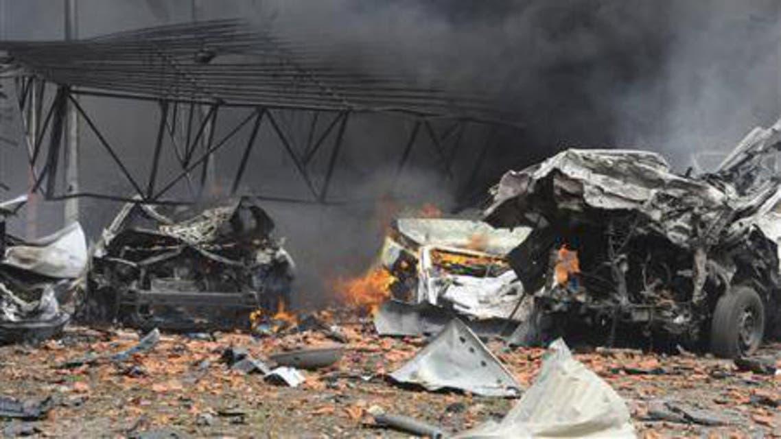 Syria car bomb reuters