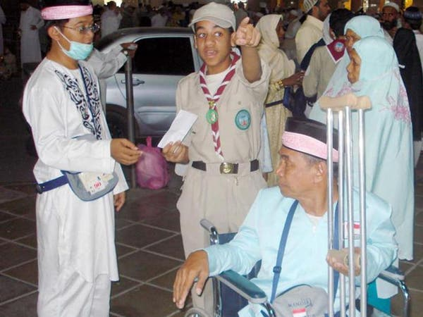 300 كشاف لخدمة الحجاج الزائرين للمسجد النبوي