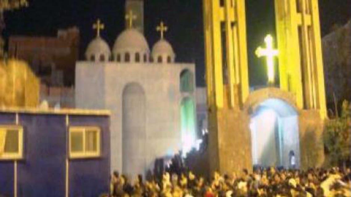 كنيسة العذراء في منطقة الوراق