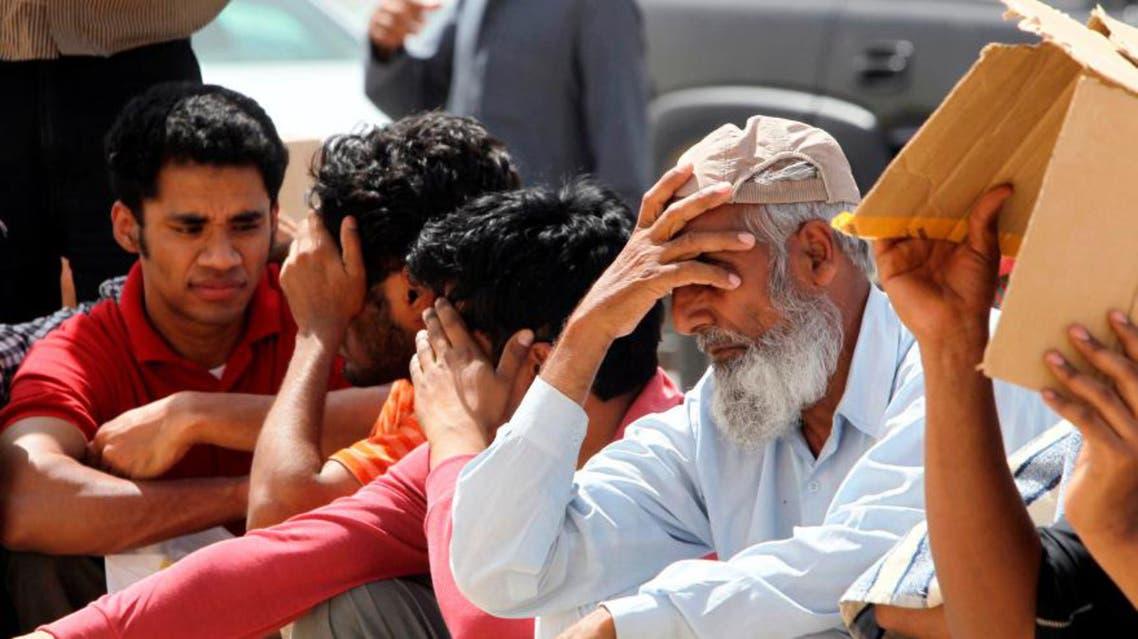 saudi workers reuters