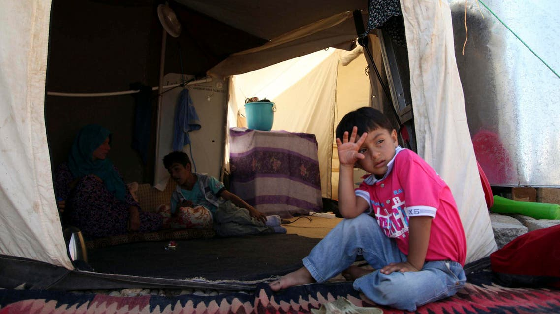 Reuters Syrian refugees