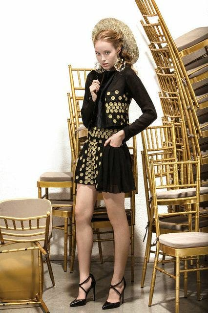 Razan Al Azzouni's 2014 Spring/Summer collection. (Supplied by fashion designer)