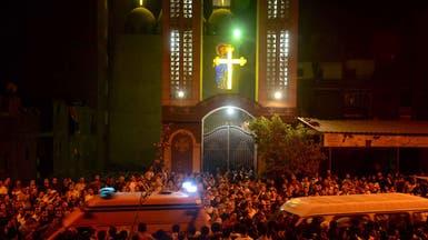 ضبط المتهمين في الهجوم على كنيسة العذراء بالوراق
