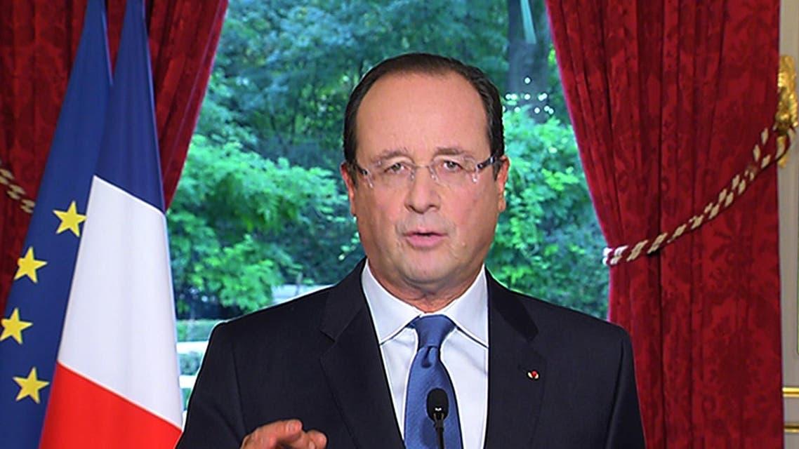 Hollande AFP