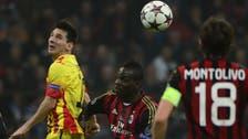 Messi goal gives Barcelona draw at AC Milan