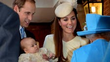 Prince William and Kate hold private christening for new prince