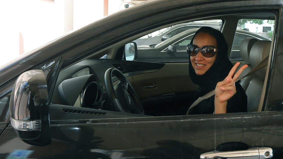 Saudi driving (AFP)