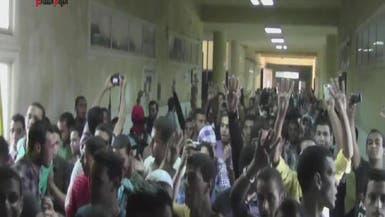 تظاهرات طلبة الإخوان تشعل الجامعات المصرية