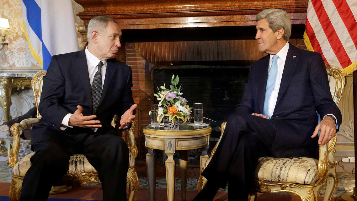 kerry and netanyahu_reuters