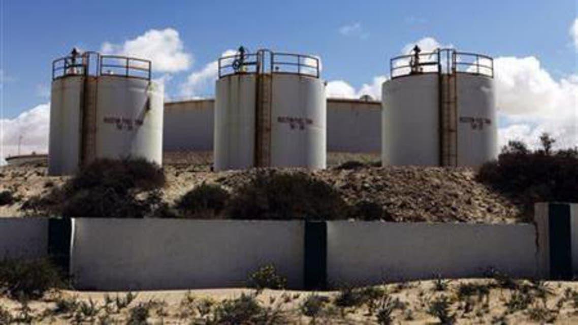 libya oil tanks reuters