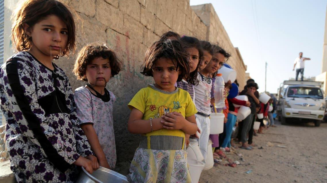 المساعدات للشعب السوري