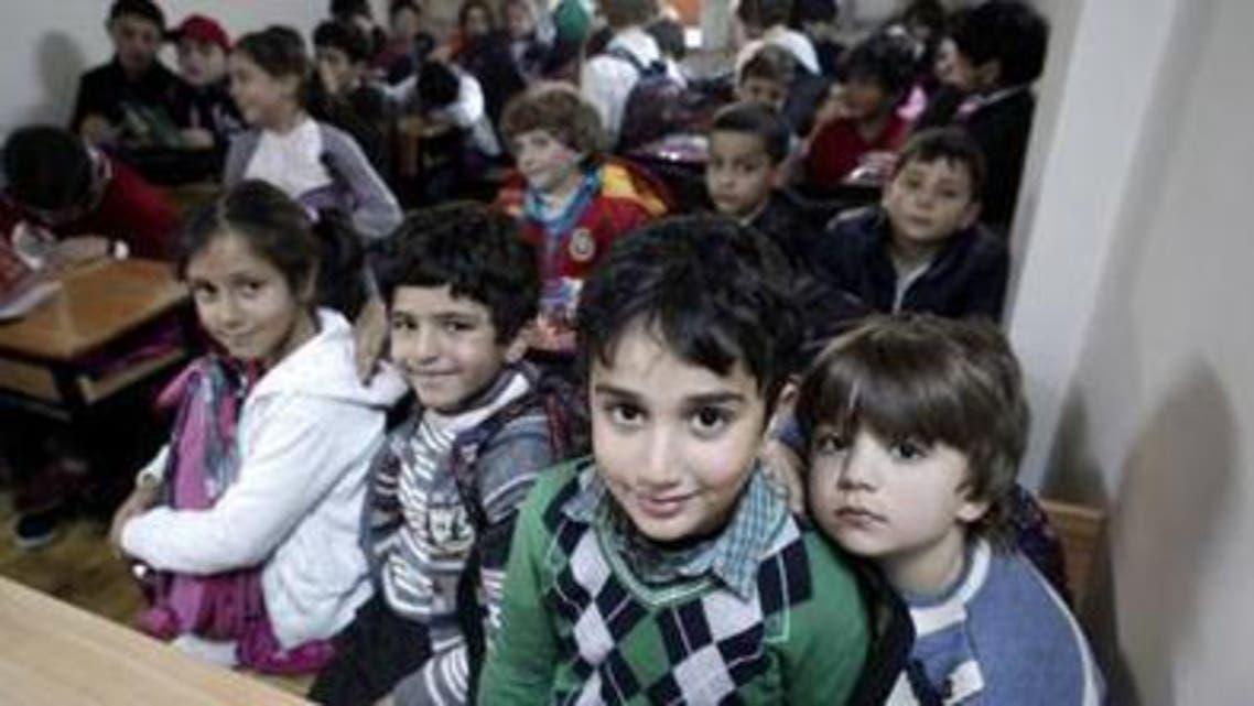 Syrian refugee children in Istambul