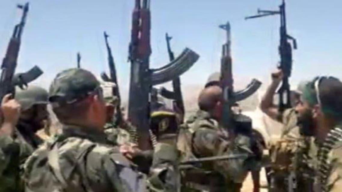 عناصر من حزب الله في سوريا