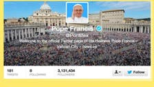 Pope's twitter account attracts 10 million followers