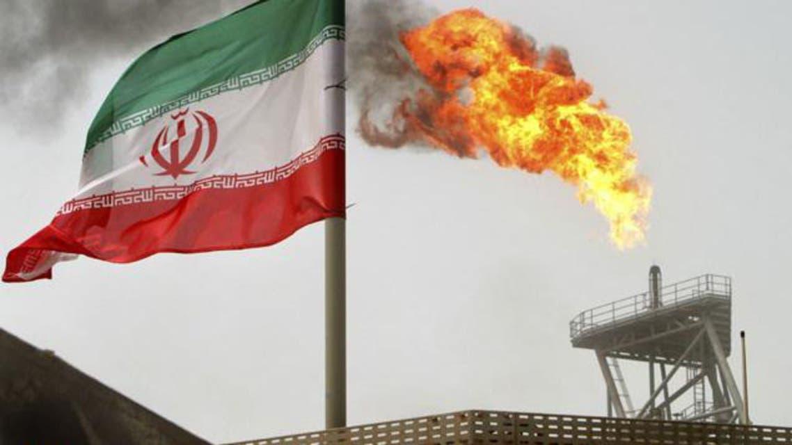 انتاج النفط في ايران