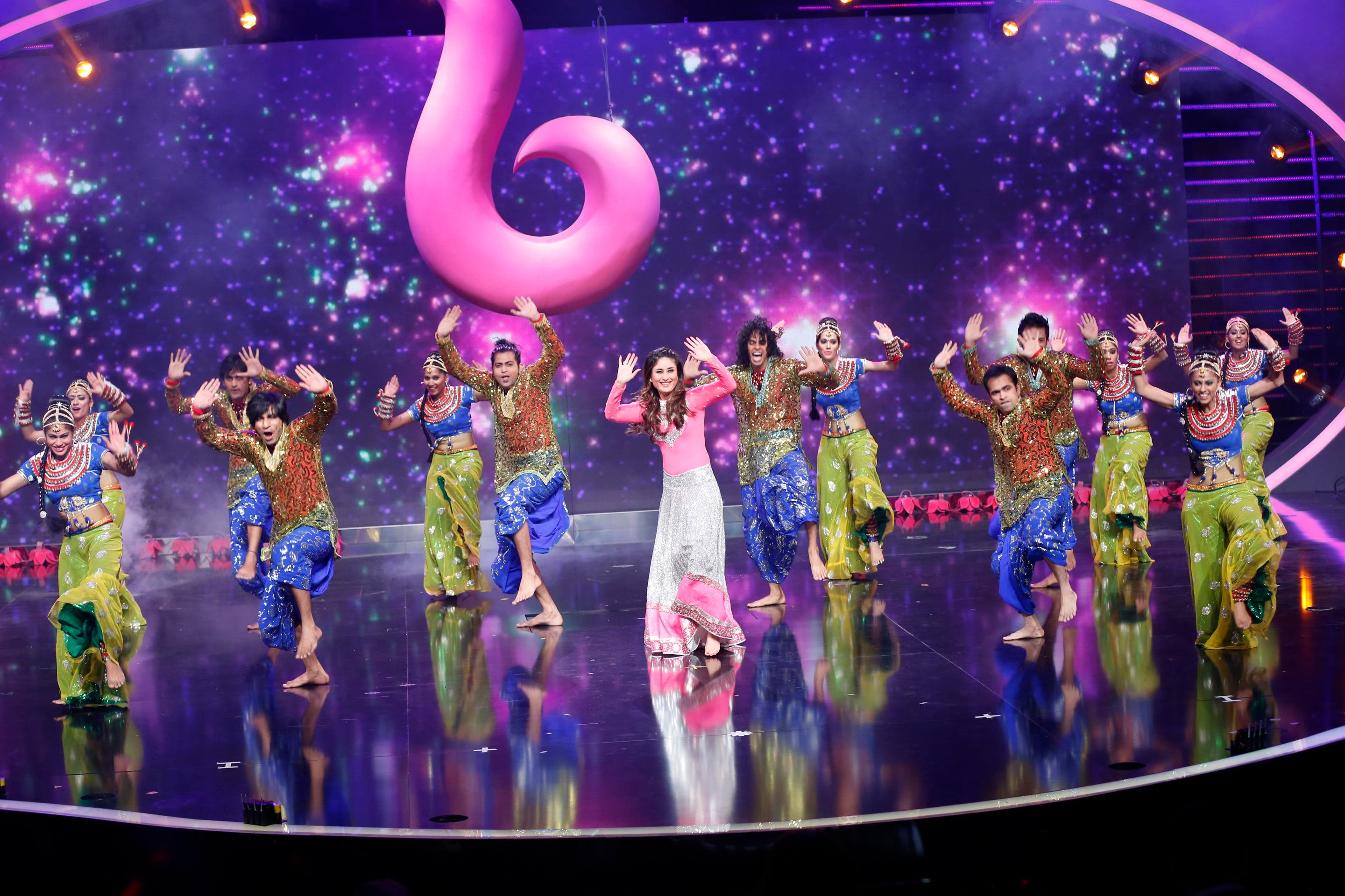 Karina Kapoor surprised Arabs Got Talent's audience with her on-stage appearance on Saturday. (MBC)