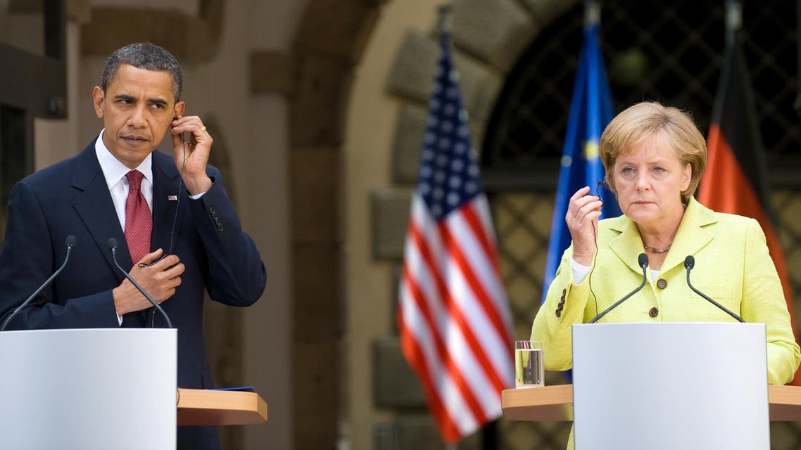 AFP Obama merkel