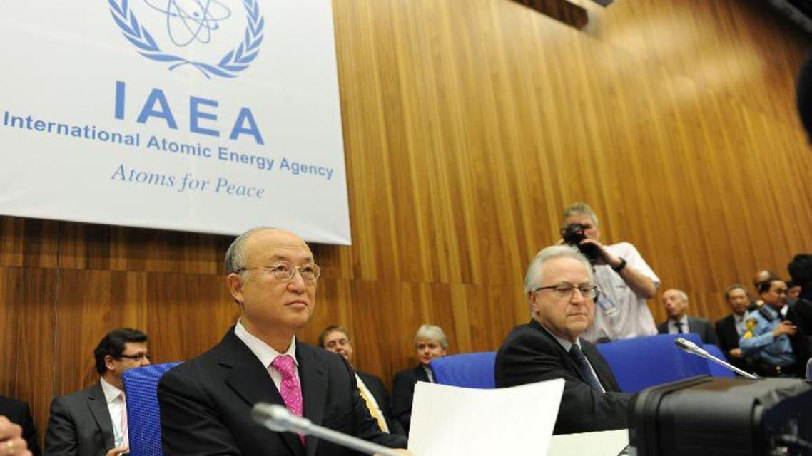 المدير العام للوكالة الدولية للطاقة الذرية الياباني يوكيا أمانو