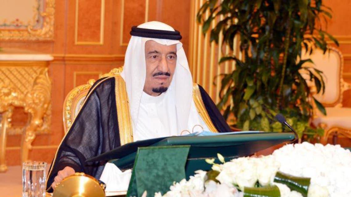 الأمير سلمان خلال مجلس الوزراء