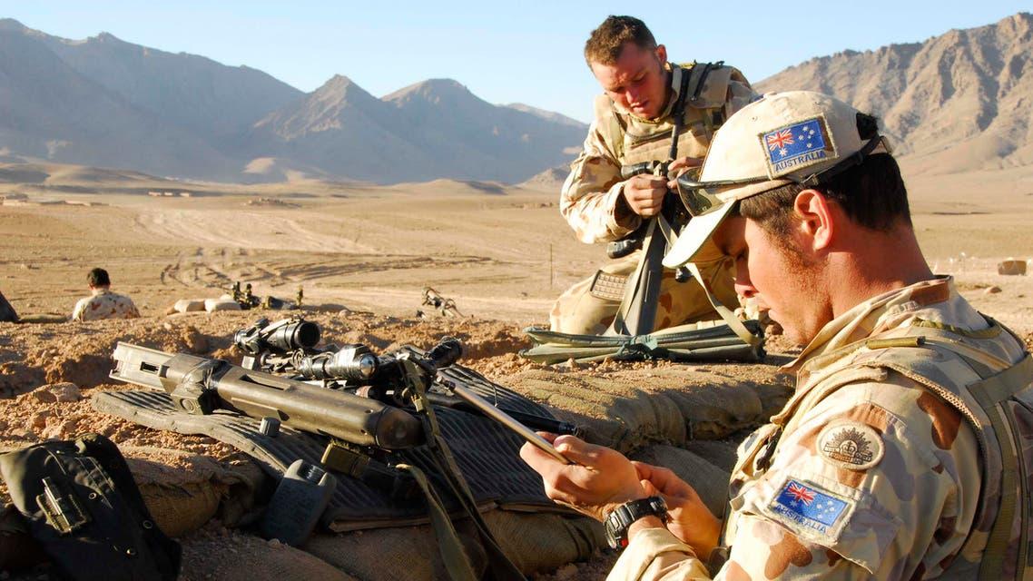 جنود أستراليين في أفغانستان