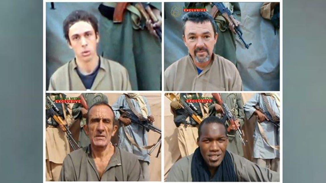 اطلاق سراح المختطفين الفرنسيين