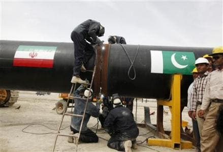 pipeline pakistan iran reuters