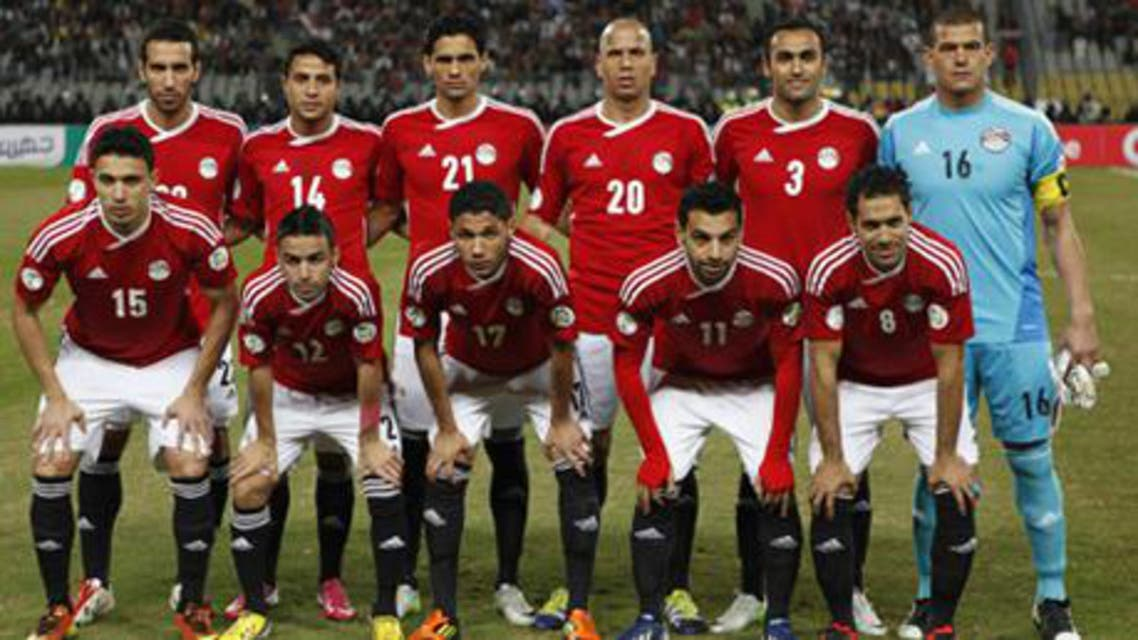 Egypt football team reuters