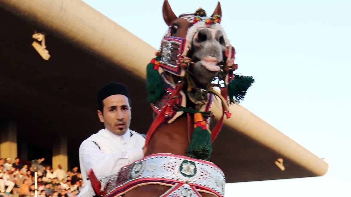 Libya's horse-riding festivities
