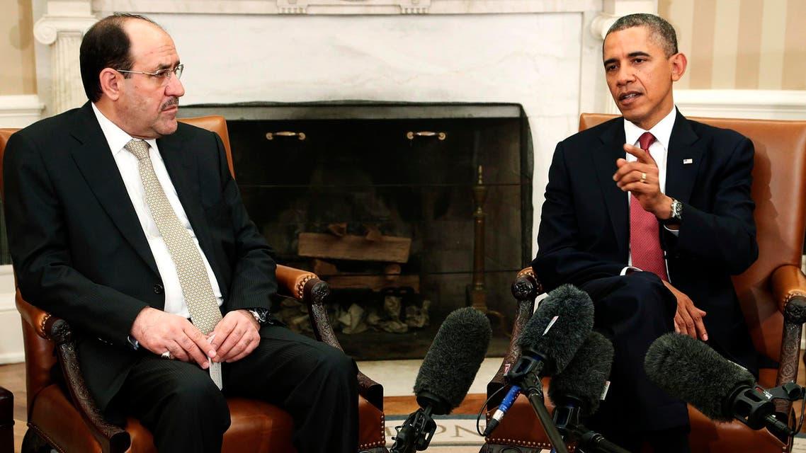 Maliki and Obama (Reuters)
