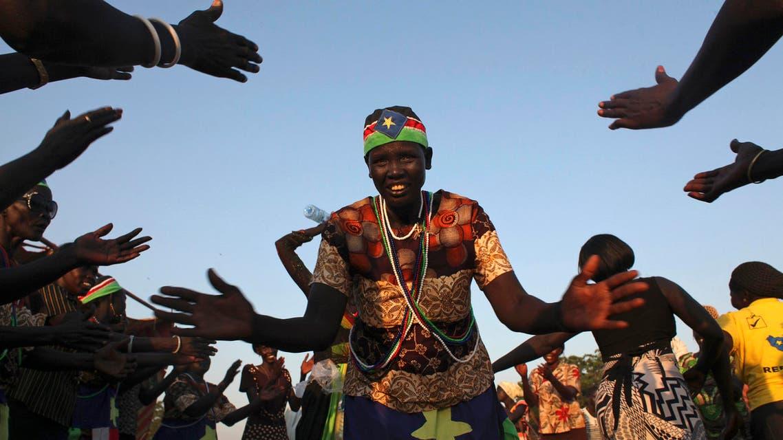 South Sudanese rejoice referendum results