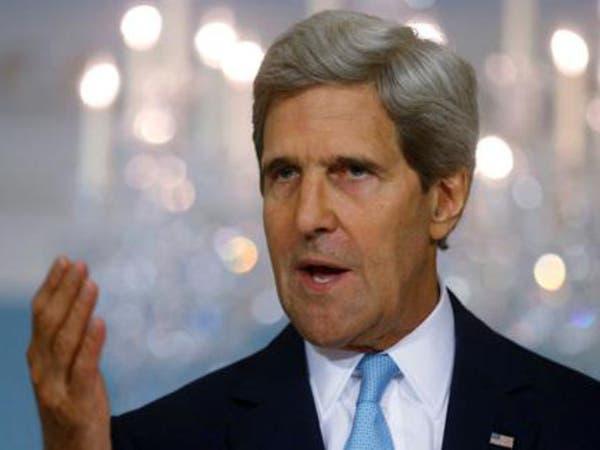 كيري يحذر لافروف: لا تسدوا باب الدبلوماسية