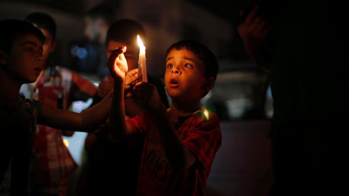 gaza strip power outage reuters file photo