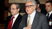 Brahimi: no peace talks without Syrian opposition