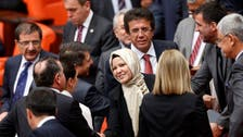 Erdogan praises Turkey MPs for headscarves in parliament
