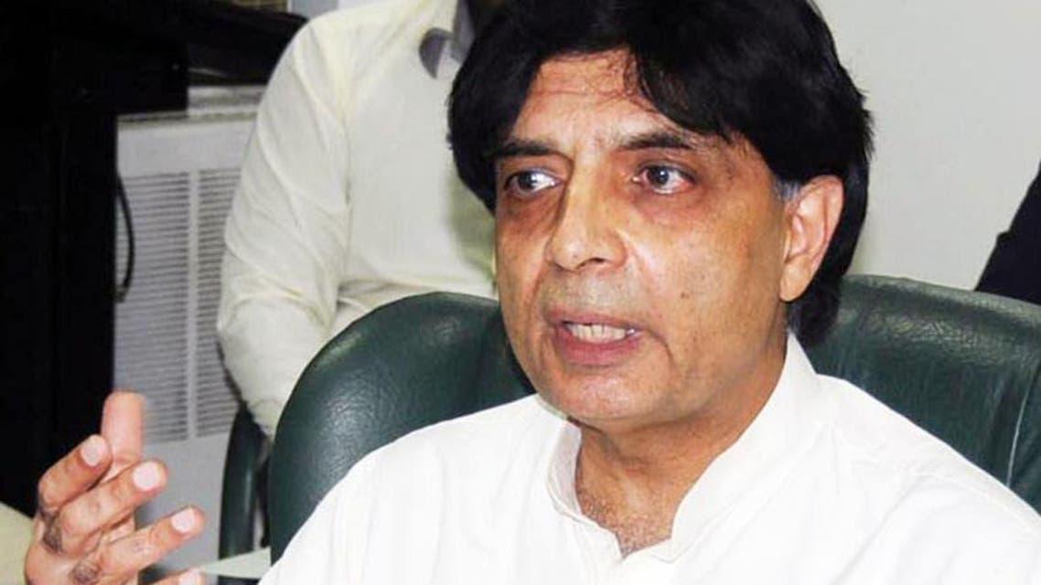 وزير الداخلية الباكستاني شودري نثار