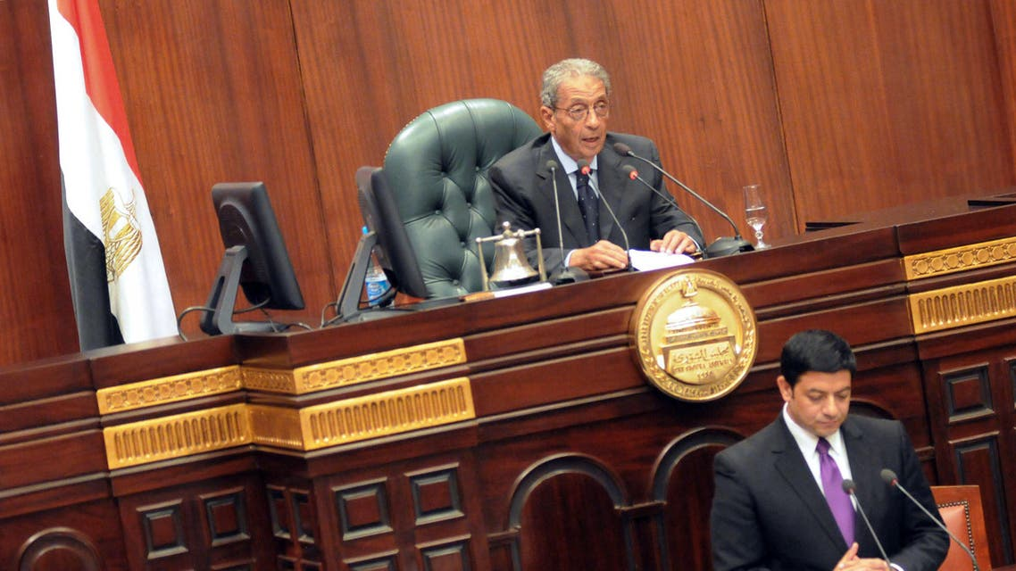 Constituent Assembly Chairman Amr Moussa (File Phot: AFP)