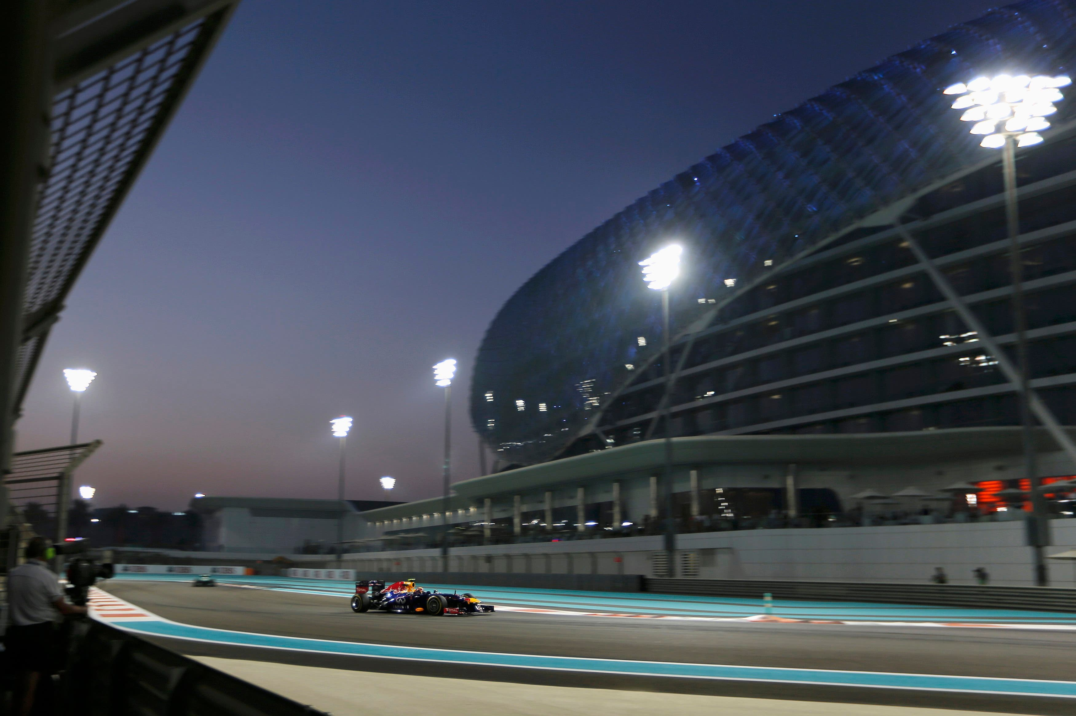 F1 practice sessions in Abu Dhabi